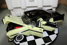Precision Miniatures 1:18 Scale 1956 CHEVROLET BEL AIR 4 DOOR HARDTOP (YELLOW)