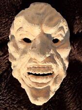 Holzmaske Dämon Rohling zum selbst Schnitzen und Gestalten
