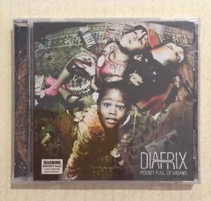 DIAFRIX Pocket Full Of Dreams - CD 2012 NEW SEALED Hip Hip Rap Australian Soul