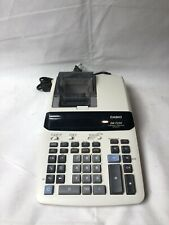 Casio DR-T220 Thermal Printing Calculator 12-Digit Tested Working