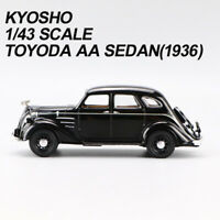 1/43 Kyosho Toyota Automobile Museum Toyoda AA Sedan 1936 DieCast Car Model Rare
