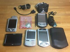Vintage Pocket PC PDA Lot HP Compaq iPaq 3650 (Boots!) 3950 HW6515A Mio Digi etc