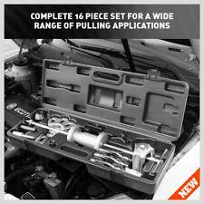 17Pcs Dent Puller Slide Hammer Auto Body Truck Repair Tool Kit New