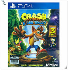 3 IN 1 PS4 Crash Bandicoot N. Sane Trilogy SONY Activision Action Games