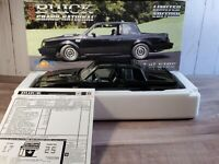 GMP 1986 Buick Grand National 1:18 Scale Diecast Part No. 8005 Model Car LE