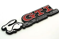 GTI Racing Rabbit Emble Car Side Stripe Emblem Sticker For Golf MK5 Jetta Passat