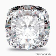 1.51 Carat H/VS2/Ex Cut Square Cushion AGI Earth Mined Diamond 6.52x6.41x4.42mm