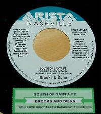 Brooks & Dunn 45 South Of Santa Fe / Your Love Don't Take A Backseat NM  w/ts