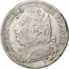 Monnaies, Louis XVIII, 5 Francs au buste habillé, 1815 I Limoges, KM #81200