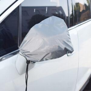 2x Car Side Mirror Anti Frost Ice Snow Cover Auto Rear View Mirror Sun Protector