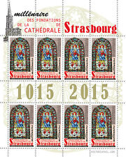 "LABELS ""Millenary Grounds of the Cathedral of Strasbourg - Virgin MARY"" 2015"