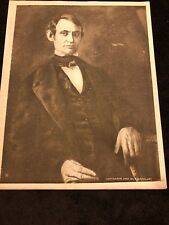 1909 Rare Vintage Photogravure Print of President Abraham Lincoln by R B McClure