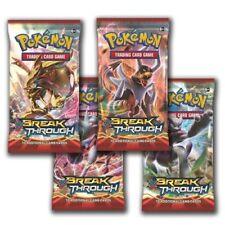 Pokemon XY BREAKTHROUGH Sealed Booster Packs Break Through TCG
