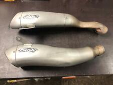 Suzuki GSXR1000K7 07 Twin MotoGP Silencers Satin - E Legal Exhaust OMS76