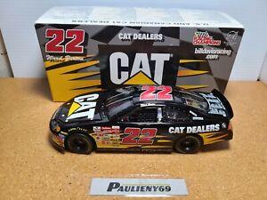 2002 Ward Burton #22 Caterpillar Dealers Dodge 1:24 NASCAR Racing Champions MIB
