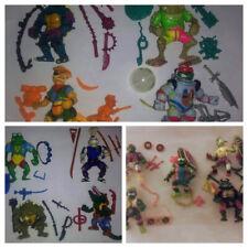Ninja Turtles Huge Lot of 13 Complete Vintage Bandai TMNT