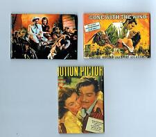 New Gone With The Wind Magnet Set of 3 Color Magnets Clark Gable Vivien Leigh