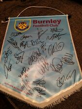 Burnleyfc  Signed Pennant