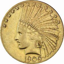 USA 10 Dollars Indian Head 1908 bis 1933 geprägte Gold Anlagemünze Indianer