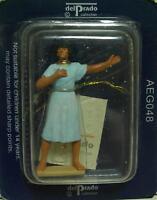 AEG048 - FIGURA EGIPCIA DE PLOMO - DEL PRADO