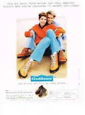 PUBLICITE  ADVERTISING  1994  GALIBIER  chaussures
