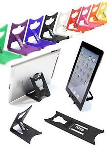 Apple iPad 9.7 Pro Tablet Holder : BLACK iClip Folding Travel Desk Display Stand