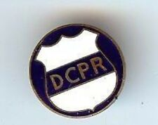 DCPR Vintage ENAMEL mini BADGE Hallmarked pin Defense Contractor Planning Report