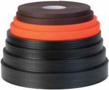 """100 ft roll Weaver Soft Grip 7/8"""" BLACK- stronger than """"thane"""" material made USA"""