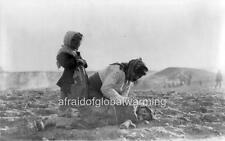 Photo. ca 1916.  Postmortem - Armenian Mother & Dead Child