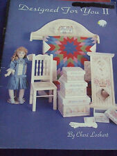 """TOLE PAINTING CRAFT BOOK """"DESIGNED FOR YOU II """" UNUSED PATTERNS  GREAT CONDITION"""