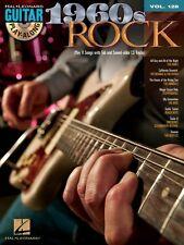1960s Rock Sheet Music Guitar Play-Along Book and CD NEW 000701740