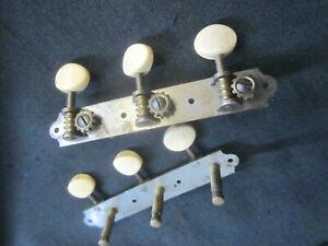 Vintage   Waverly  acoustic Guitar Tuners  1960s
