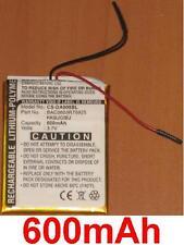 Batterie 600mAh Pour Creative Zen (16GB)
