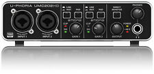 Behringer UPhoria UMC202HD Audiophile USB Audio Interface With Tracktion 4 SoftW