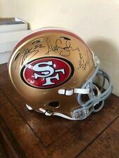 49ers Autographed Full Size Authentic Helmet Willis Smith Kaepernick, plus more