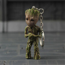 Hot Baby Groot Guardians of the Galaxy Vol. 2 Key Chain Alloy Keyring Pendant #3