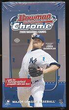 LOT of (2) 2008 Bowman Chrome Baseball HOBBY Box