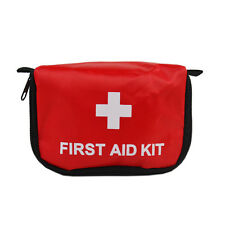 First Aid Kit 0.7L Red Camping Emergency Survival Bag Empty Waterproof Pouch