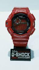 Vintage G-Shock Mudman GW-9300 Red LCD Gold Back Compass Solar Multi6 Limited
