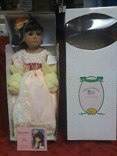 "Beautiful Denise McMillan 24"" Flora Porcelain AA Doll w COA"