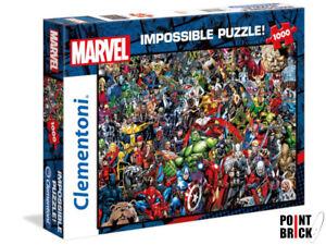 CLEMENTONI 39411 MARVEL - 1000 pezzi - Impossible Puzzle