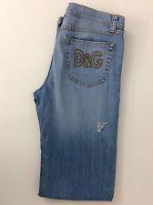 "Dolce & Gabbana D&g Hombre Jeans, cintura es 29"" L34"" Azul Denim, gc"