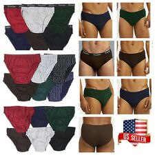 Mens Leather Like Brief Oepn Side Pouch Underwear Bikini Pants Mini Trunk Briefs