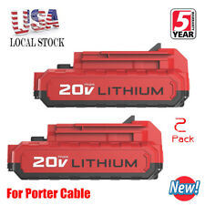 PORTER-CABLE PCC680LP 20v Lithium-Ion Battery - Pack of 2
