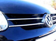 VW Golf 5 (Typ 1K) 3M Leisten Chrom Zierleisten für Kühlergrill Oben NEU