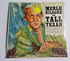 MERLE KILGORE The Tall Texan Country Vinyl Lp Record Album SEALED Mercury Wing