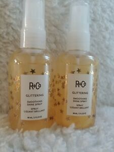R+Co Glittering Smoothing Shine Spray 3 oz. FAST FREE SHIPPING ( 2 Pack)
