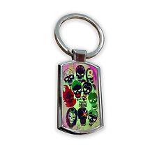 Suicide Squad movie Harley Quinn dc comics superhero hero keyring keys key ring