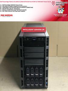 Dell PowerEdge T630 2x E5-2630v3 128GB PercH730P 32TB SAS 2x 750W Tower Server