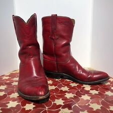 DR LAURA COLLECTION - Lucchese Mens Cowboy Boots RED sz 10D